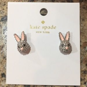 Kate Spade Bunny Studs Earrings